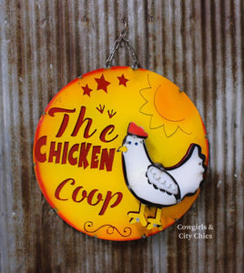 The Chicken Coop Metal Sign