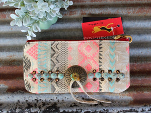Pastel Tribal Kurtmen Small Case