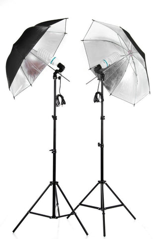 2 LIGHTS STUDIO (UMBRELLA)