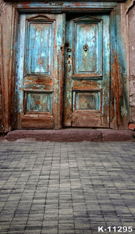 Vintage Door Photography Background