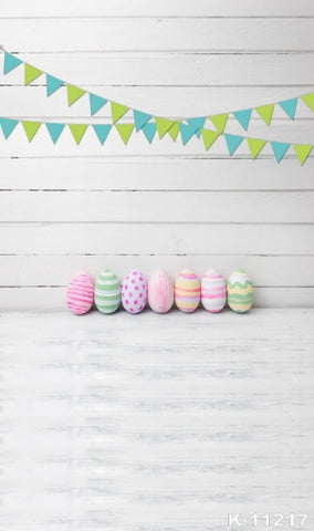 Easter Eggs Photography Background