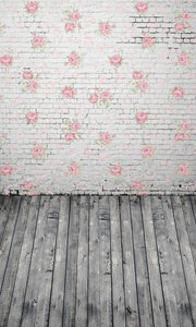 Flower Wall Photography Background