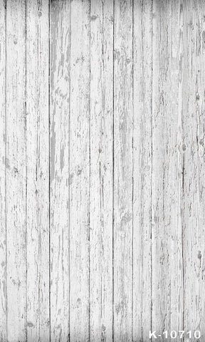 White Wood Photography Background