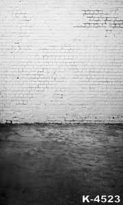 White Brick Wall Photography Background