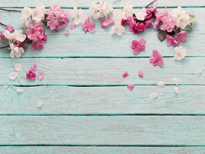 White & Pink Flowers Photography Wallpaper