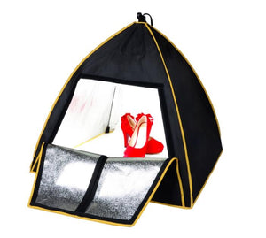 Mini Photography Studio Light Box Tent with 3 free wallpapers