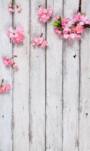 Elegant Pink Flowers Photography Background