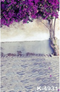 Purple Tree Photography Background