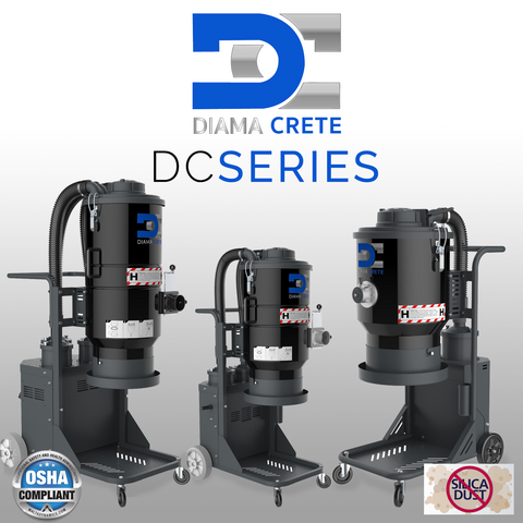 DC Series Powerful Vacuums
