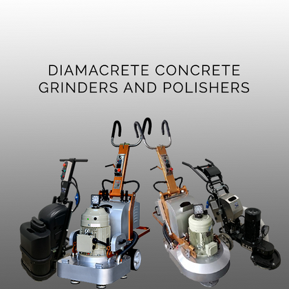 Diamacrete Concrete Grinders and Polishers