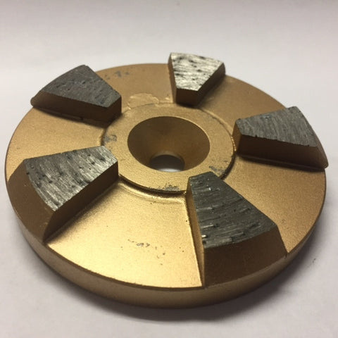 "RC 3"" 5 Segment Metal Diamonds"