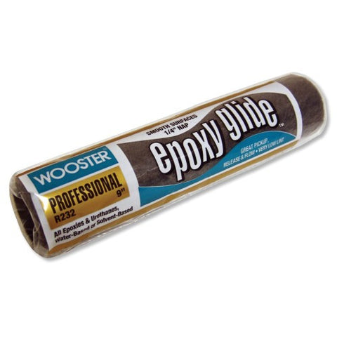 "Wooster Brush 1/4"" Nap Epoxy Glide Roller Cover"
