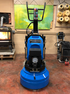 "Blue Phantom 22"" Planetary Grinder & Polisher"
