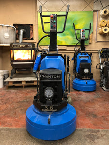 "Blue Phantom 24"" Planetary Grinder & Polisher"