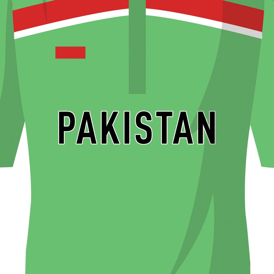 Pakistan Cricket 1992 World Cup Winners Team Print