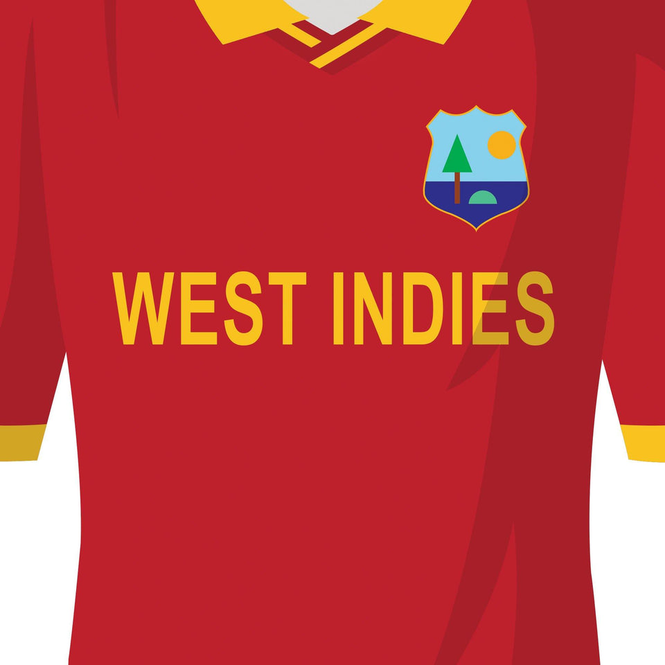 West Indies Classic Kits Cricket Team Print