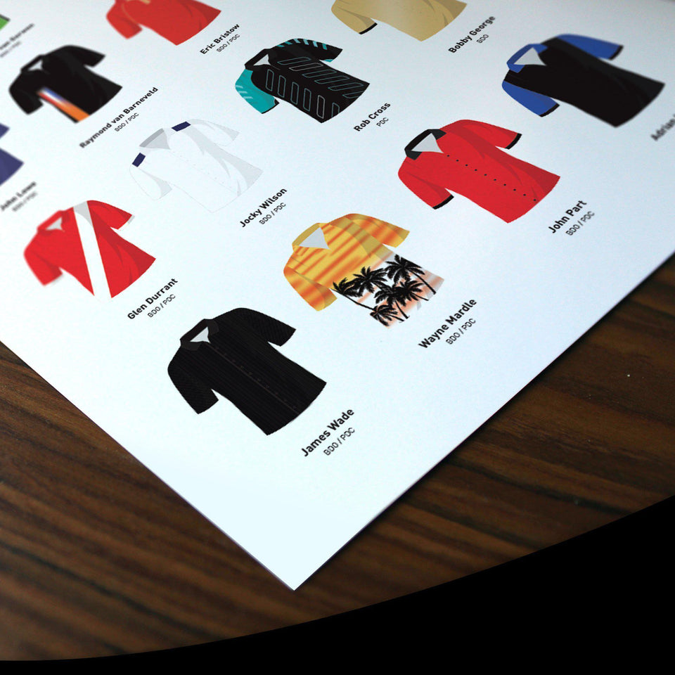 Darts Legends Classic Shirts Print - Good Team On Paper