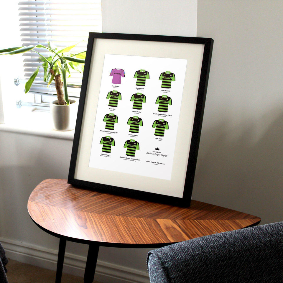 Forest Green 2017 National League Playoff Winners Football Team Print