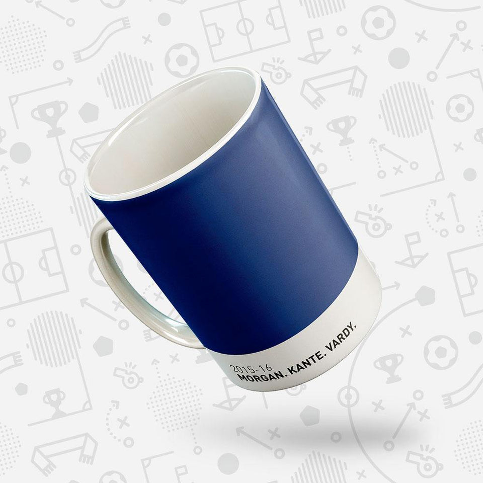 Leicester 2015-16 Iconic Football Kit Pattern Mug