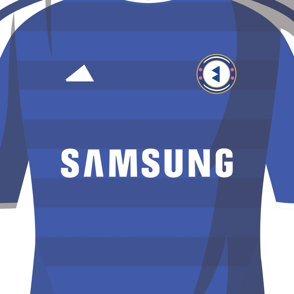 PERSONALISED Chelsea Football Team Print