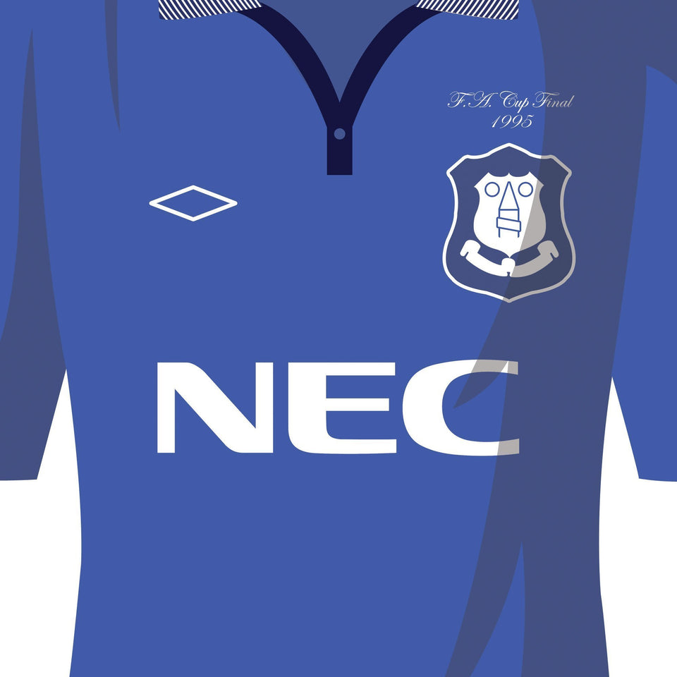 PERSONALISED Everton Football Team Print
