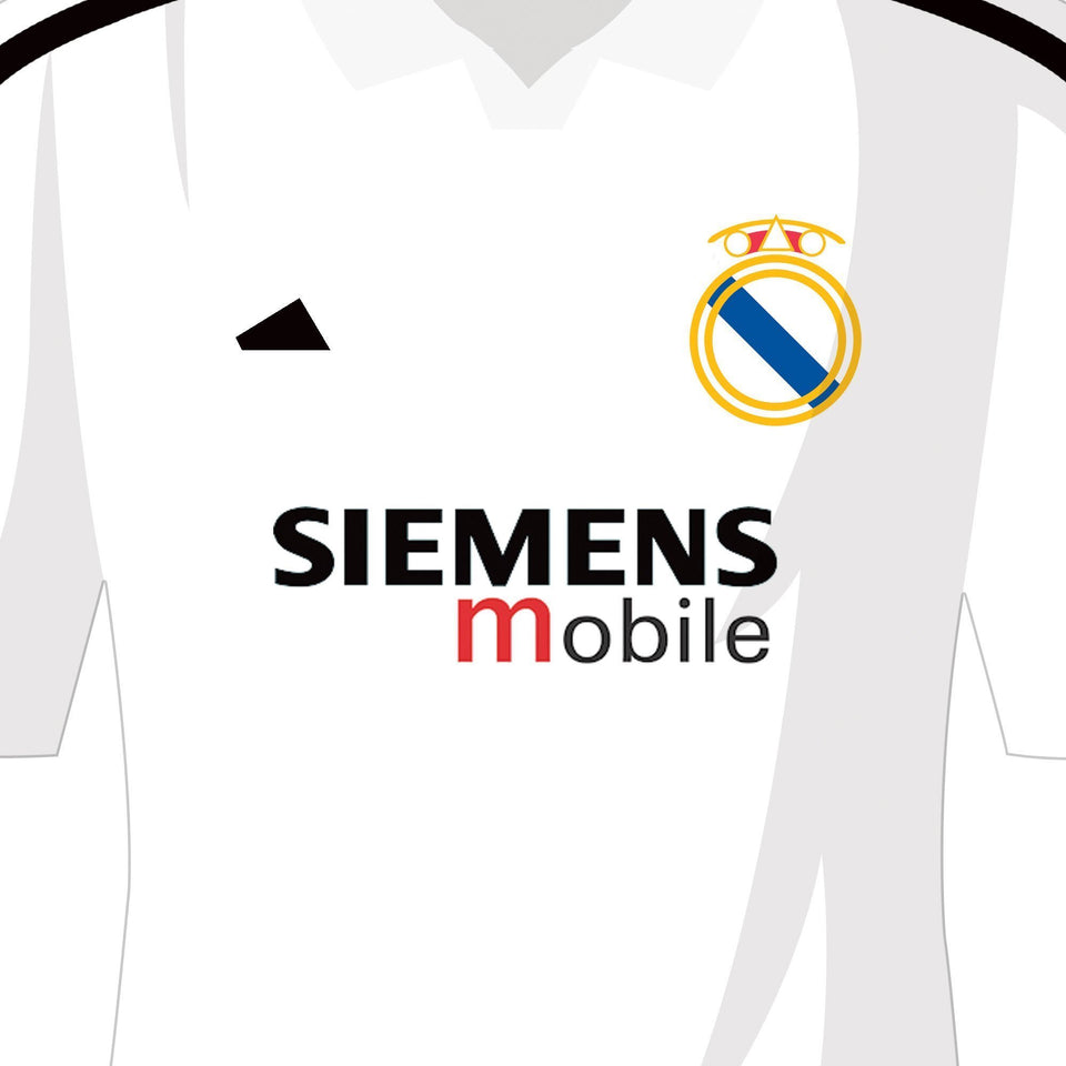 PERSONALISED Madrid Football Team Print-Good Team On Paper