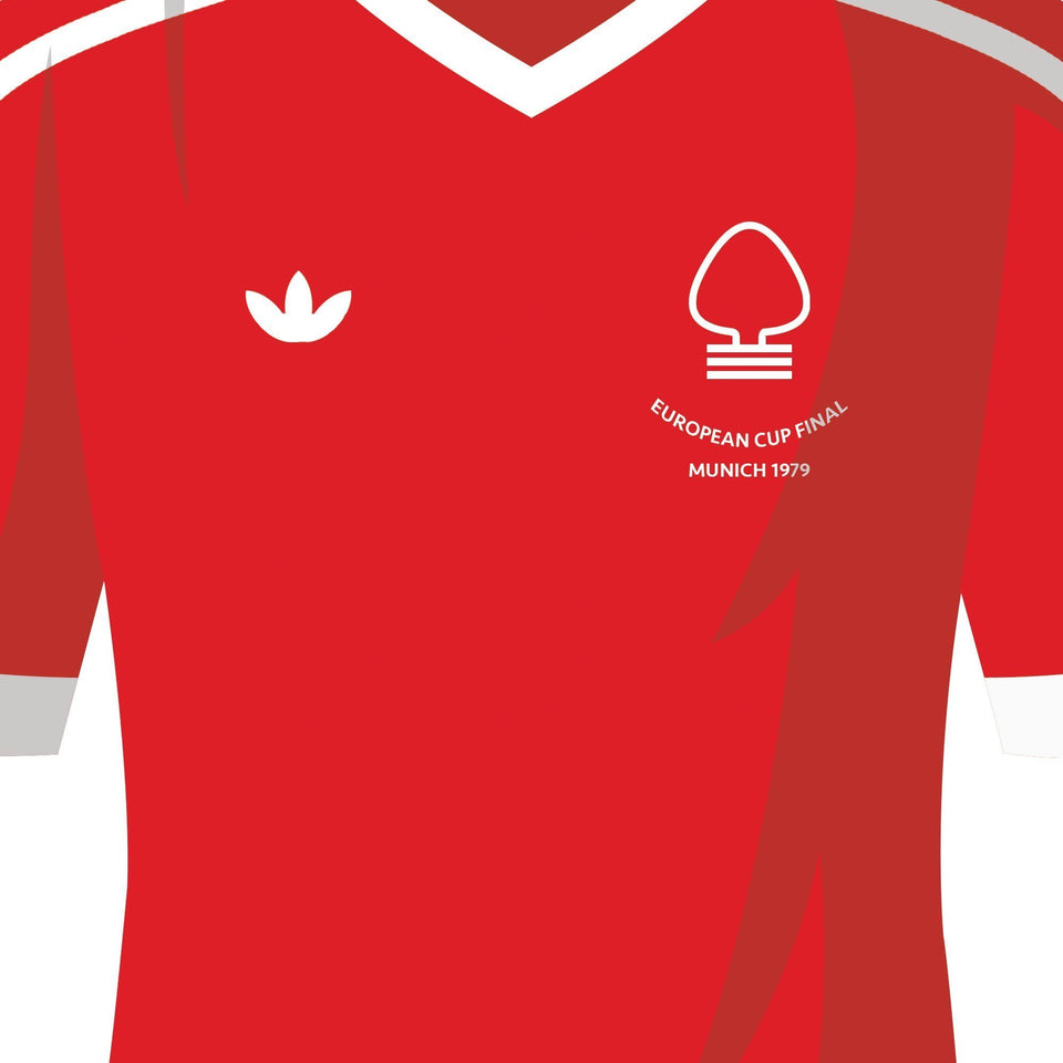 PERSONALISED Nottm Forest Football Team Print-Good Team On Paper