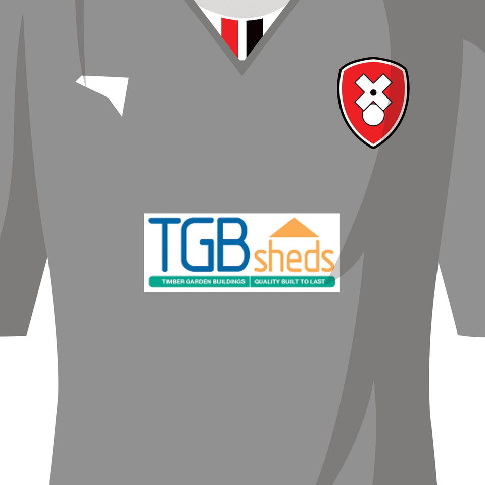 PERSONALISED Rotherham Football Team Print - Good Team On Paper