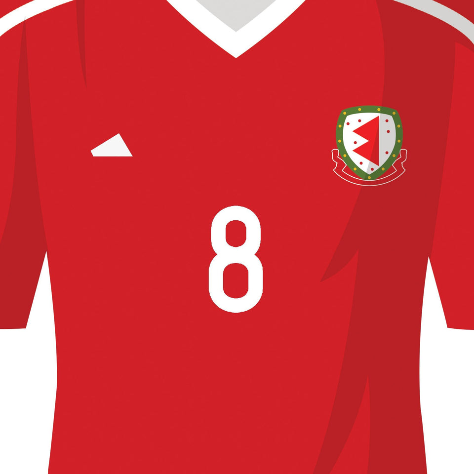 PERSONALISED Wales Football Team Print-Good Team On Paper