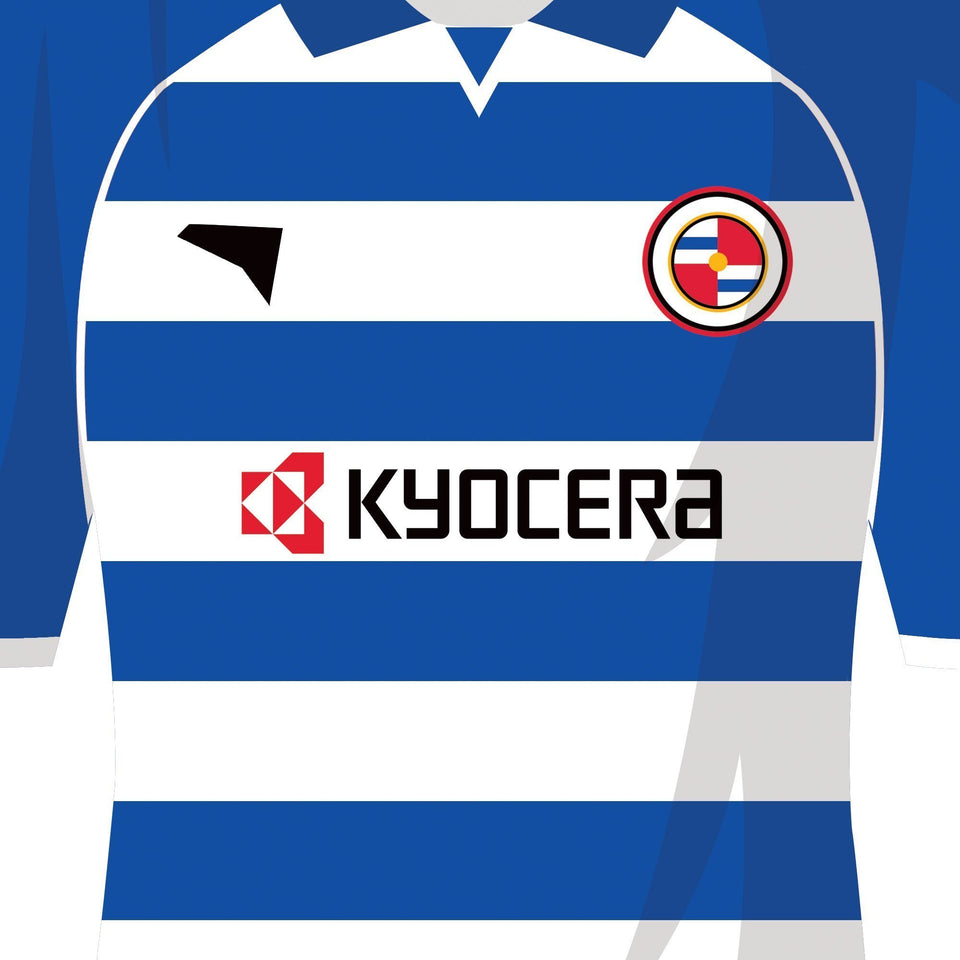 Reading 2006 Championship Winners Football Team Print-Good Team On Paper