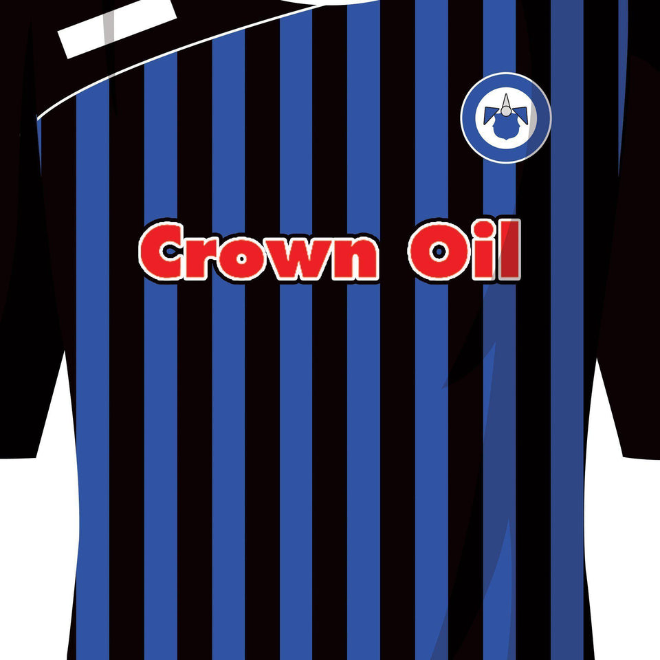 Rochdale 2014 League 2 Promotion Football Team Print