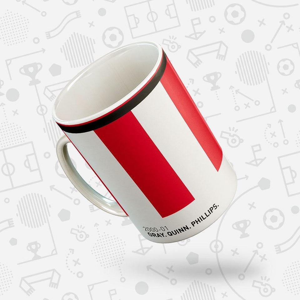 Sunderland 2000-01 'Better Days' Football Mug