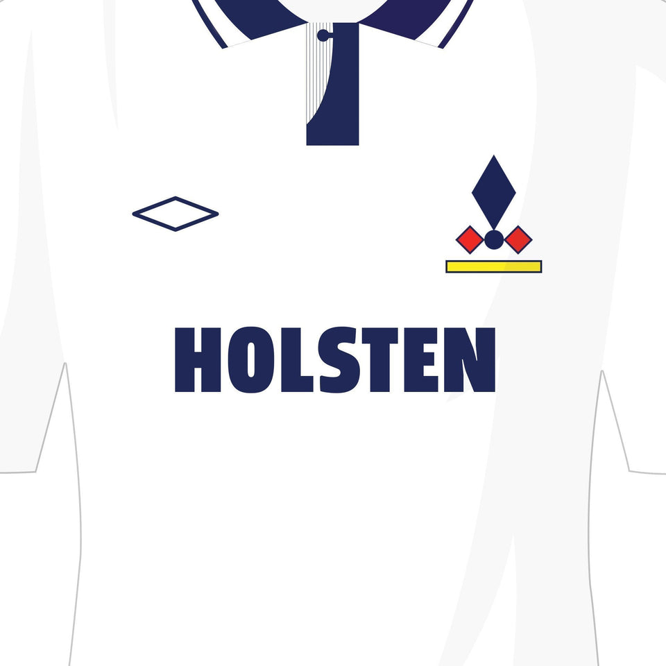 Tottenham Classic Kits Football Team Print - Good Team On Paper