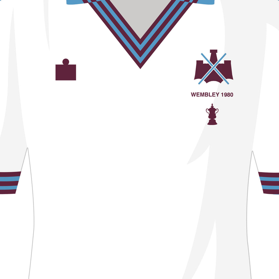 West Ham Classic Kits Football Team Print