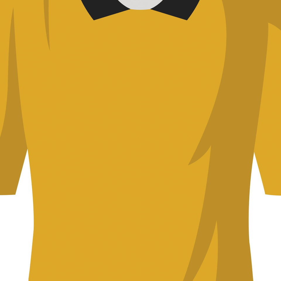 Wolves Classic Kits Football Team Print-Good Team On Paper