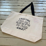 Ripped the Stitch - Tote Bags