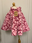 280 Ripped the Stitch Dundas - Reversible Poncho 2-4 yrs