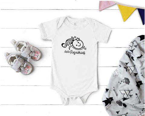 Cherie Ink - 203 - Astrological Baby Sign Onesies
