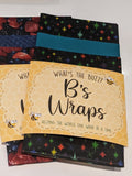 414-B's Wraps-Reusable Food Wraps