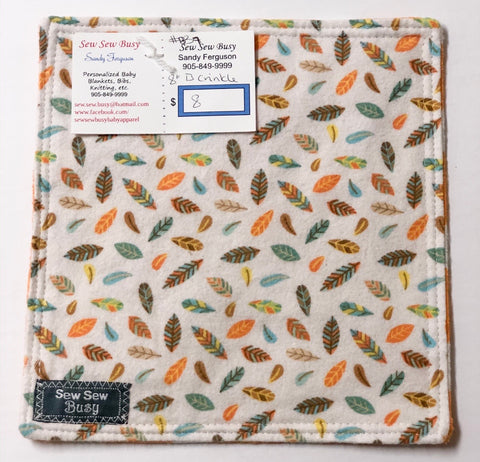 Sew Sew Busy - Crinkle squares 8""