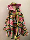 280 - Ripped the Stitch Dundas - Reversible Children's Ponchos - 6y to 8y