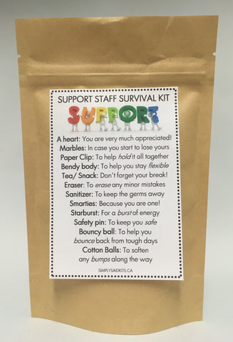 Simply Said Kits - Back to School Survival Kits - Student, Teacher, Mentor, etc
