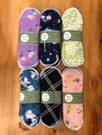 Mother and Nature  -  Cloth Sanitary Pads - Pack of 3
