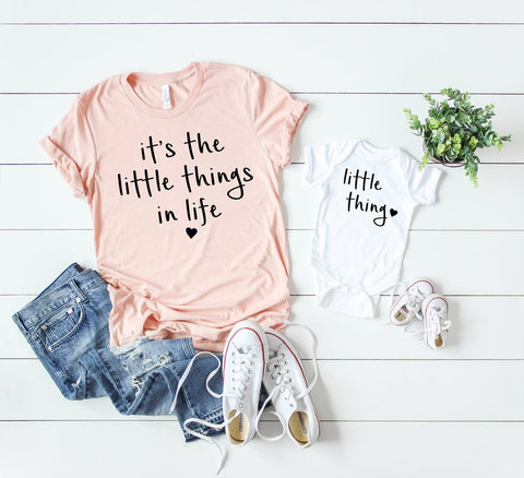 B184 / 184 - Playful Pineapple: It's The Little Things In Life Mom Shirt