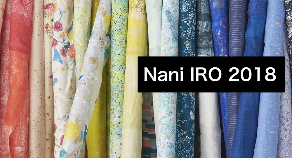 Nani IRO 2018 by Naomi Ito for Kokka