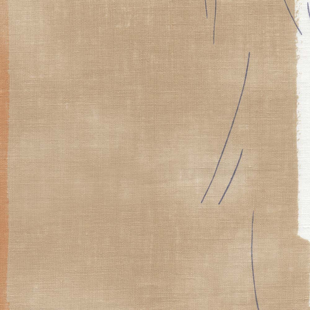 Nani IRO Kokka Temps Linen - Orange B - 50cm