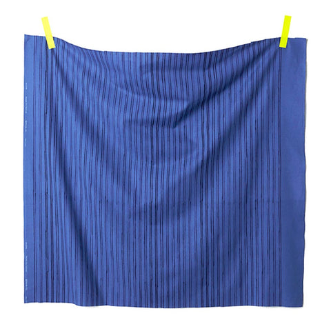 Nani IRO Kokka Riviere Cotton Sheeting - Blue A - 50cm