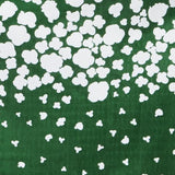 Nani IRO Kokka Peaceful Cooing Double Gauze - Green D - 50cm - Nekoneko Fabric