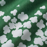 Nani IRO Kokka Peaceful Cooing Double Gauze - Green D - 50cm