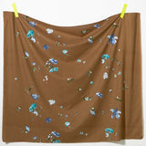 Nani IRO Kokka New Morning I Cotton Silk - Brown C - 50cm